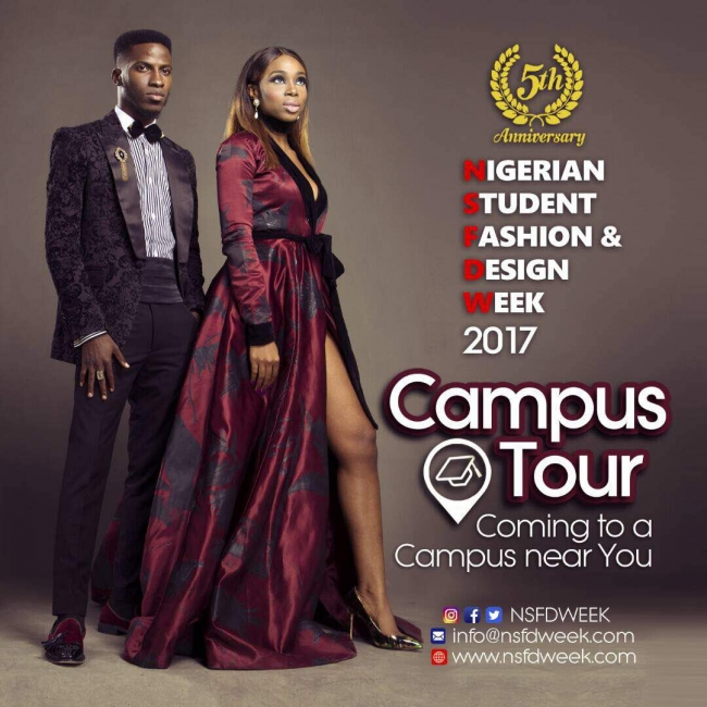 Nigerian Student Fashion Design Week 2017